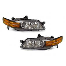 2004-2005 Acura TL DEPO SAE / DOT Replacement Bi-Xenon D2S Projector Headlight