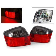 2002-2005 Audi A4 / 03-05 S4 B6 4 Door Sedan DEPO Rear Red/Clear or Red/Smoke LED Tail Light