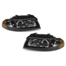 1999-2001 Audi A4 B5.5 / 00-02 S4 DEPO Xenon Model OEM Replacement D2S Projector Headlight With Clear Corner Lens