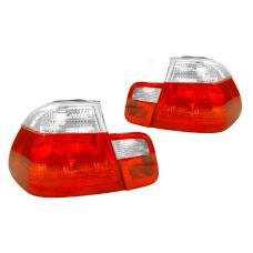 1999-2001 BMW E46 3 Series 4 Door Sedan Red / Clear or Red / Smoke Tail Light