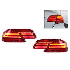 2007-2010 BMW 3 Series E92 2D Coupe DEPO LCI Euro Style Amber LED Signal 4 Pieces LED Rear Tail Lights