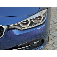 2012-2018 BMW F30 / F31 3 Series 4 Door Sedan / 5 Door Wagon DEPO LCI Style Angel Eyes Halo Rings Full LED Headlight