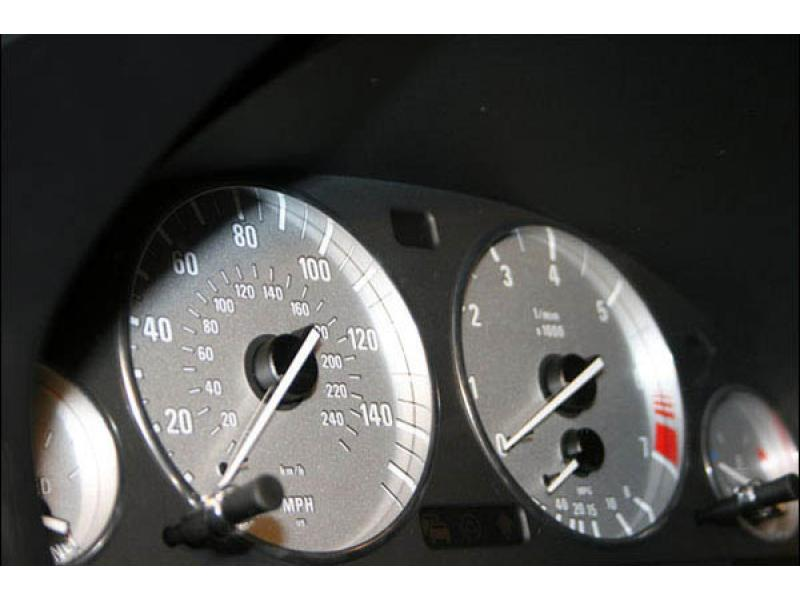 Bmw Silver Or White Gauge Face For Instrument Cluster