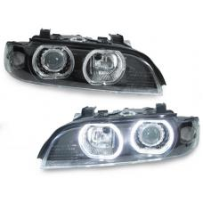 1997-2003 BMW 5 Series E39 DEPO Projector V3 F30 Style LED Angel Halo U Ring Headlight With Optional Xenon HID