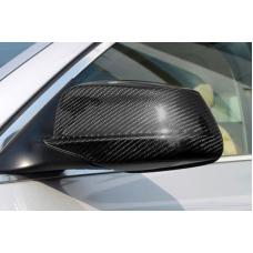 2004-2010 BMW E60 5 Series / E63/E64 6 Series Real Carbon Fiber Mirror Cover Trim