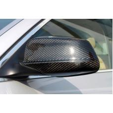 2011-2013 BMW 5 Series F10 / F11 Real Carbon Fiber Mirror Cover Trim Overlay