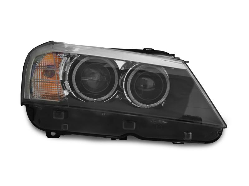 2011-2014 BMW X3 F25 DEPO Projector UHP LED Angel Halo