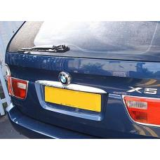 BMW E36 3 Series / E38 7 Series / E39 5 Series / E46 / E53 X5 / E60 Chrome Trunk Lid