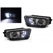 1996-2002 BMW Z3 / 1997-2000 BMW E39 LED Daytime Driving Projector Fog Light Lamp Set BY DEPO