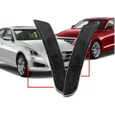 2014-2017 Cadillac CTS / 2015-2017 Cadillac ATS Clear or Smoke for Front Bumper Side Marker Lights