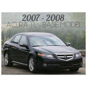 2007-2008 ACURA TL BASE MODEL - FACELIFT