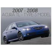 2007-2008 ACURA TL TYPE-S MODEL - FACELIFT