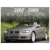 2007-2009 BMW 3 SERIES E93 CONVERTIBLE - PRE-FACELIFT
