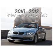 2010-2013 BMW 3 SERIES E93 CONVERTIBLE - FACELIFT