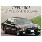 1999-2001 BMW 7 SERIES E38 4 DOOR SEDAN - FACELIFT