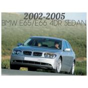 2002-2005 BMW 7 SERIES E65 / E66 4 DOOR SEDAN - PRE-FACELIFT