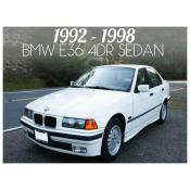 BMW 3 SERIES E36 4 DOOR SEDAN