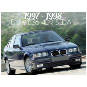 1997-1998 BMW 3 SERIES E36 4 DOOR SEDAN - FACELIFT