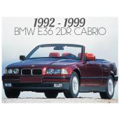 BMW 3 SERIES E36 CONVERTIBLE / CABRIOLET
