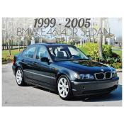 BMW 3 SERIES E46 4 DOOR SEDAN