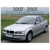 2002-2005 BMW 3 SERIES E46 4 DOOR SEDAN - FACELIFT