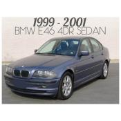 1999-2001 BMW 3 SERIES E46 4 DOOR SEDAN - PRE-FACELIFT