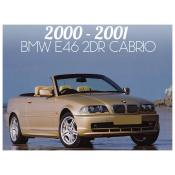 2000-2001 BMW 3 SERIES E46 CONVERTIBLE - PRE-FACELIFT