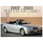 2002-2003 BMW 3 SERIES E46 CONVERTIBLE - PRE-FACELIFT