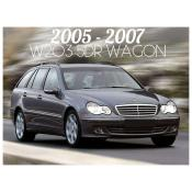 2005-2007 MERCEDES W203 C CLASS 5 DOOR WAGON - FACELIFT