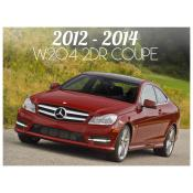 2012-2014 MERCEDES C CLASS W204 2 DOOR COUPE