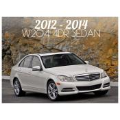 2012-2014 MERCEDES C CLASS W204 4 DOOR SEDAN - FACELIFT