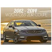 2012-2014 MERCEDES C CLASS W204 C63 AMG 2 DOOR COUPE
