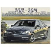 2012-2014 MERCEDES C CLASS W204 C63 AMG 4 DOOR SEDAN - FACELIFT