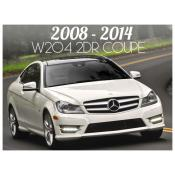 MERCEDES C CLASS W204 2 DOOR COUPE