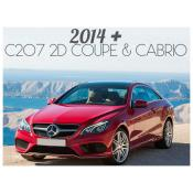 2014+ MERCEDES E CLASS C207 2 DOOR COUPE / CONVERTIBLE - FACELIFT