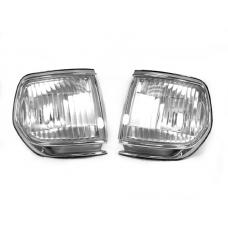 1991-1997 TOYOTA LAND CRUISER FJ80 DEPO CLEAR CORNER LIGHTS