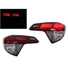 2016-2017 Honda HRV / HR-V DEPO Red and Clear Rear LED Light Bar Tail Lights