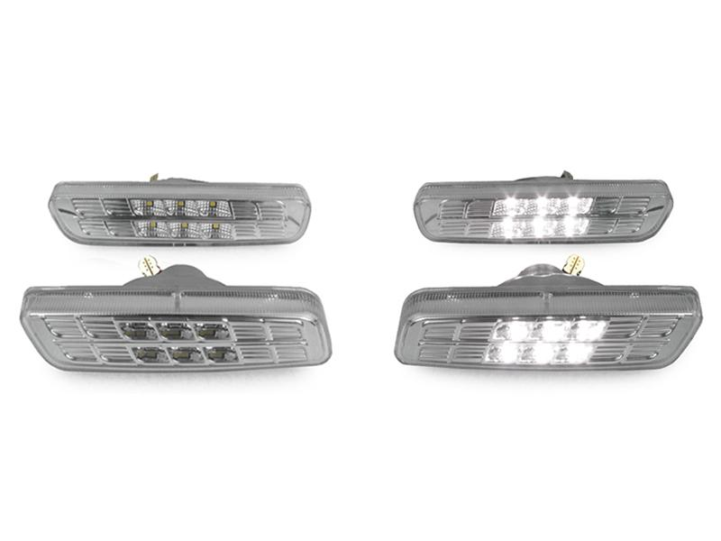 2001-2005 Lexus IS300 DEPO Clear or Smoke Front + Rear LED