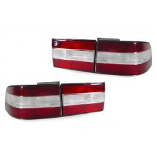 1990-1994 Lexus LS400 DEPO JDM Style Red/ Clear Rear Red 4 Pieces Tail Lights For US Spec vehicles