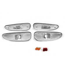 1993-1995 Mazda RX-7 DEPO Diamond Clear Front + Rear Side Marker Lights