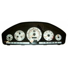 1992-1993 Mercedes S Class W140 / 90-93 R129 SL Class White Gauge Face for Instrument Cluster