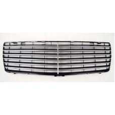 1992-1999 Mercedes S Class W140 S600 Style Black With Chrome Strip Front Grill