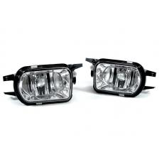 2001-2004 Mercedes SLK Class R170 Without Sport Pkg. DEPO Crystal OEM Replacement Fog Light