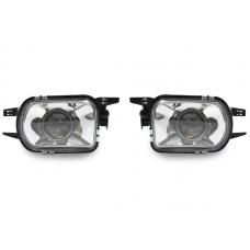 2001-2004 Mercedes C Class W203 Glass Lens Projector Fog Light