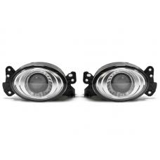 2008-2010 Mercedes C Class W204 Without Sport Package Glass Lens Projector Fog Light