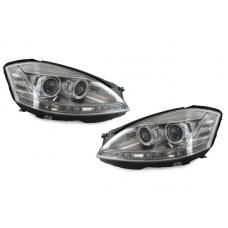 2007-2009 Mercedes S Class W221 DEPO Facelift Style LED Xenon D1S Projector Headlight With AFS