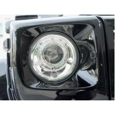 2002-2006 Mercedes Benz G Class Wagon W463 DEPO Glass Lens Projector Headlight With Optional Xenon HID