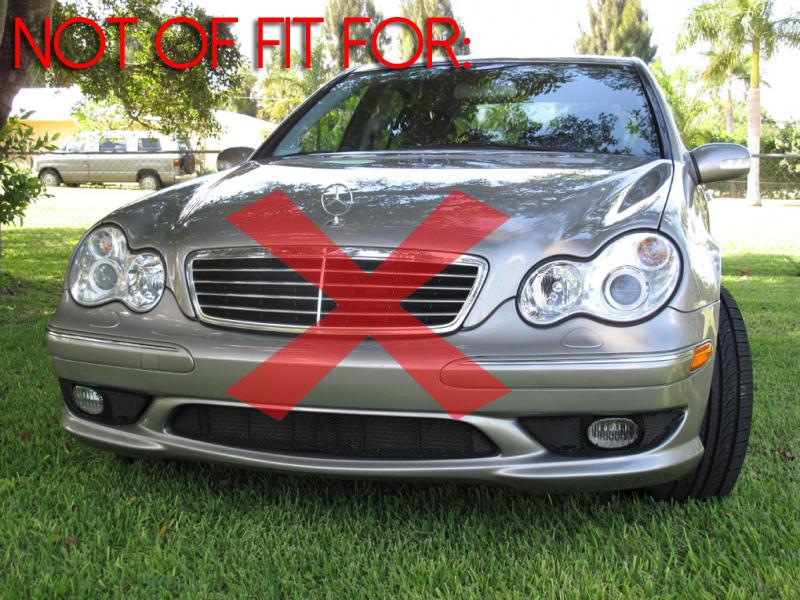 2005-2006 Mercedes W203 AMG C55 DEPO Glass OEM Replacement