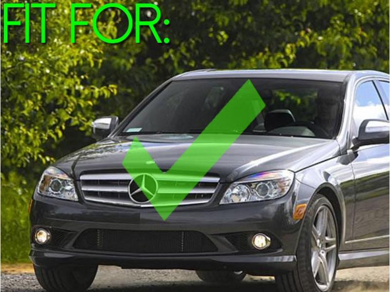 2008-2010 Mercedes C Class W204 With Sport Package & 08-11 AMG C63