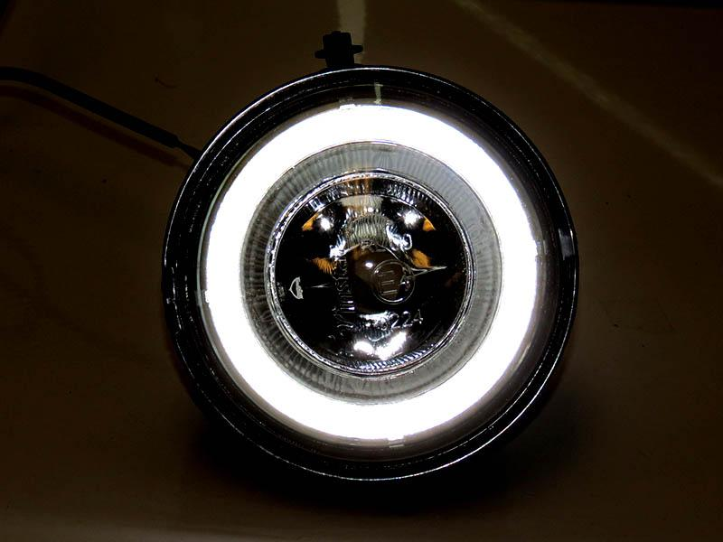 2007-2013 Mini Cooper R56 R57 R58 R59 Halo Ring LED Fog